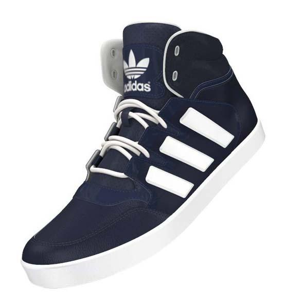 new concept da51f 8a3dc adidas originals Dropstep Collegiate Navy  White, Runnerinn