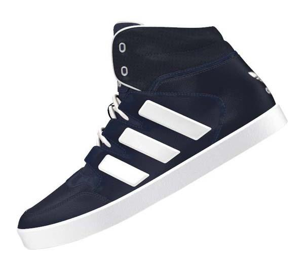 finest selection 963f9 8b3ee ... adidas originals Dropstep Collegiate Navy  White ...