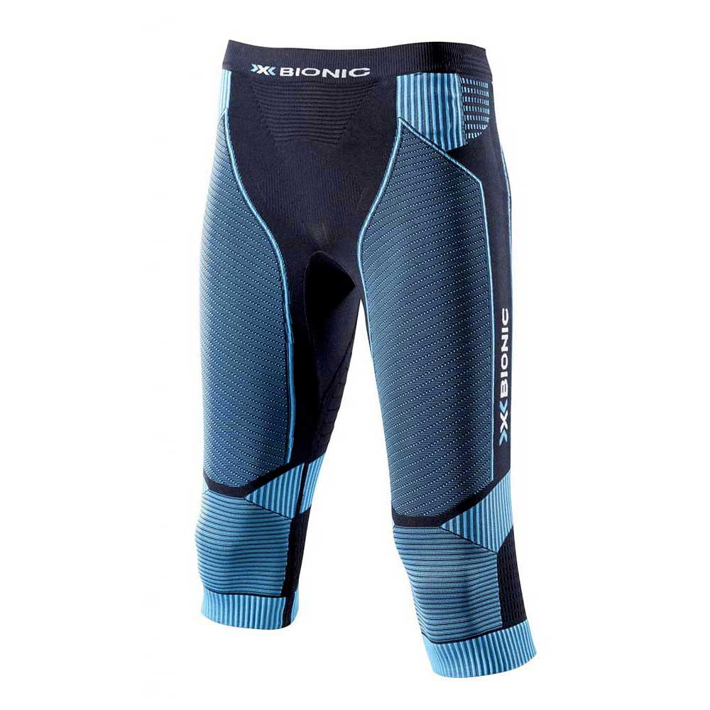 X-BIONIC Running Effektor Power 3 4 Pants Azul 461e10432dfd