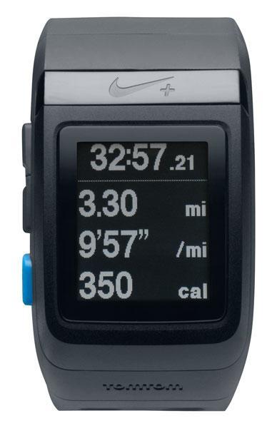 9ba5d486545 Nike SportWatch GPS Black   Blue