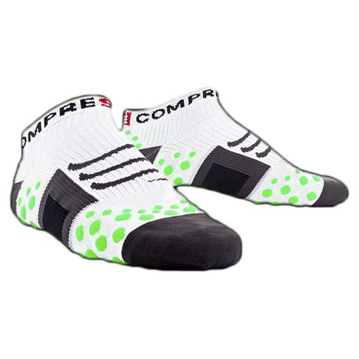 Compressport Sock Run Low White Green