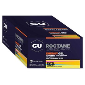 GU Roctane Energygrel Display Tutti Frutti 32gr x 24 Units