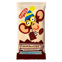 Chimpanzee Energy Bar Chocolate And Almonds 35 g Box 25 Units