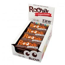 Roo´bar Raw Energy Bar Cacao Nibs And Almonds 30gr X 20