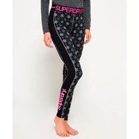 Superdry Aop Carbon Base Layer Legging