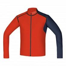 Gore running Camiseta Fusion Windstopper Soft Shell Zip Off