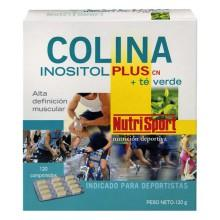 Nutrisport Colina Inositol Plus Andgreen Tea 120 Units