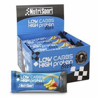 Nutrisport Low Carbs High Protein Bar Plátano y Mango 6 Unidades