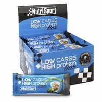 Nutrisport Low Carbs High Protein Bar Irish Crema 16 Unidades