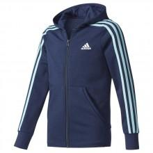 adidas 3 Stripes Full Zip Hoodie