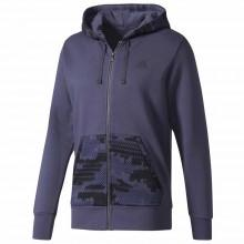 adidas Camo Full Zip Fleece Hooded