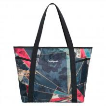Desigual Dark Denim Carryall