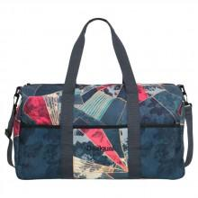 Desigual Dark Denim Gym Duffle