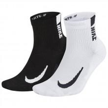 Nike Multiplier Ankle 2 Pair