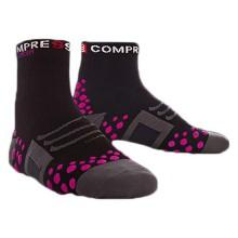 Compressport Sock Bike High Black Pink